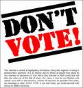 DON'T VOTE STAY MUSLIM