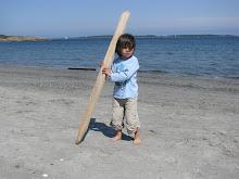 Jasper à la plage