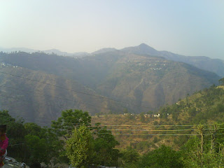 View of Village Sili Pakholi and Little view of Village Maithana