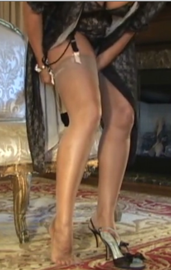 Your Pantyhose In Place 35