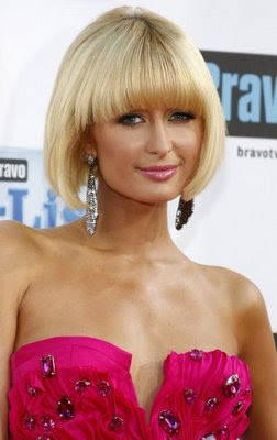 Modern Cute Fringe Bangs Hairstyles 2010 for Women