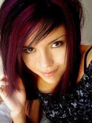 Top red beautiful short hairstyles for women 2010