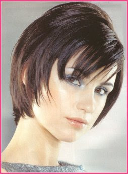 Latest Cool Beautiful Short Messy Haircuts 2010 - easy to achieve with a little planning