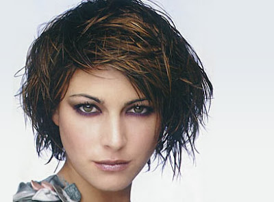 Beautiful Short Messy Haircuts 2010