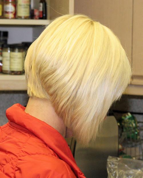 upang hair style short inverted