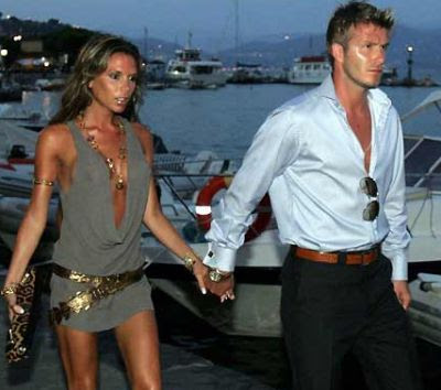 Just Wallpaper: David And Victoria Beckham