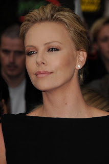 Charlize Theron - Short Updo Hairstyles