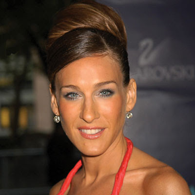 hairstyles. This one is her beautiful prom hairstyle. Sarah Jessica Parker
