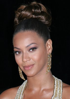 beyonce updo hairstyles