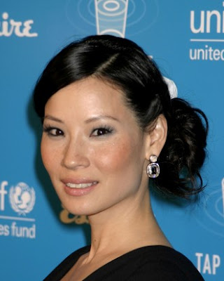medium-length and long-length Asian hairstyles over other people.