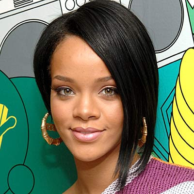 pictures of rihanna with long red hair. rihanna hairstyles short hair