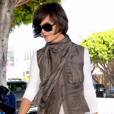 Photos of Katie Holmes Short Hairstyles