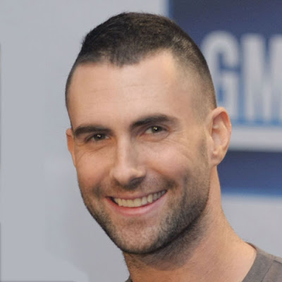 Adam Levine Short Haircuts for Men 2010