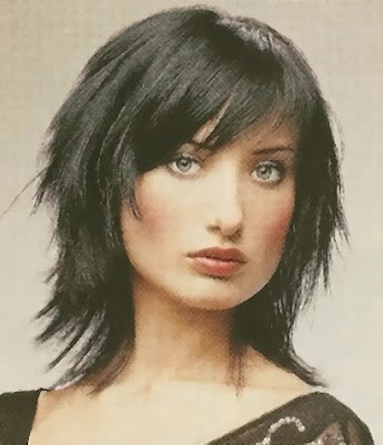 Fringe Hairstyles Fashion For Girls 2009 -short hair