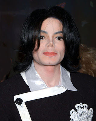 Michael Jackson Men Long Hairstyle