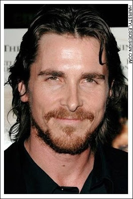 Christian bale s straight short hairstyle