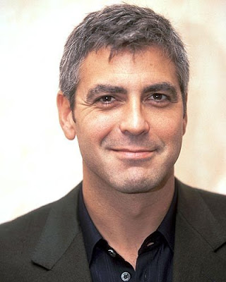George Clooney Short Men Hairstyles