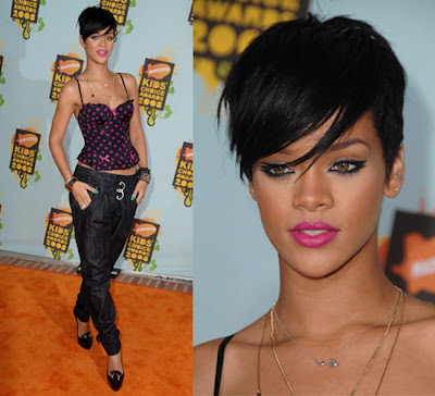 Halle Barry Hairstyle · Rihanna Hairstyles 2009