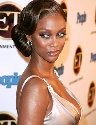 New Tyra Banks African American Hair in 2009
