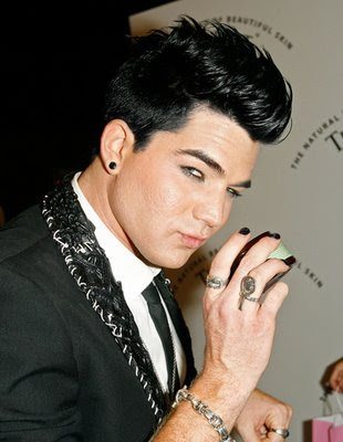 Men Haircut Trends presents Adam Lambert Hairstyles 2009