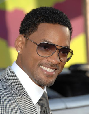 Short Celebrity Men Hairstyles Will Smith Haircuts 2009
