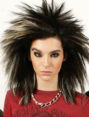 Bill Kaulitz Crazy Emo Hairstyles