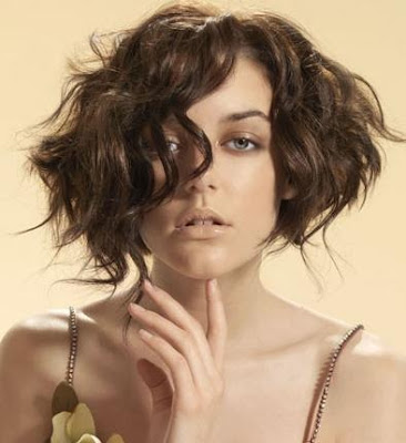 Short Curled Bob Hairstyles with Layers for 2010