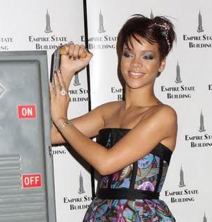 Rihanna Angle Bob Hairstyle
