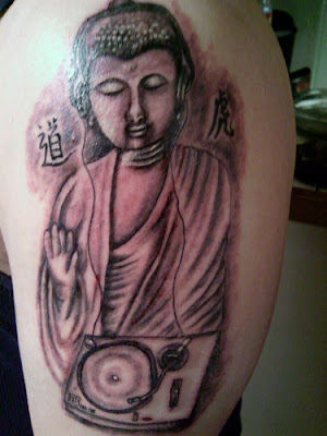 Amazing Buddhist Tattoos Styles Art