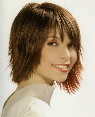 choppy hairstyles for long hair. Trendy Choppy Hairstyle – Blue