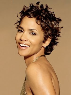 images of halle berry hairstyles. Halle Berry Short Afro