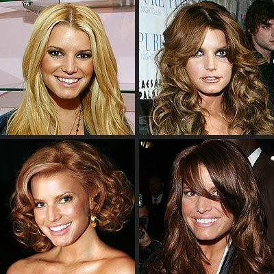 jessica simpson medium hairstyles. Jessica Simpson Blonde