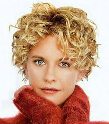 short haircuts for curly hair and round faces. Label: