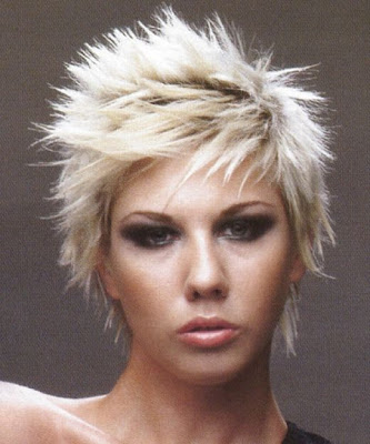 Medium men hairstyle. New Cool Short Punk Hairstyles for girls  2010.