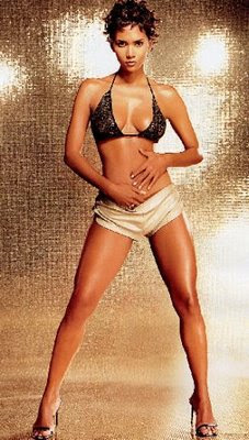 Halle Berry Cute and Short