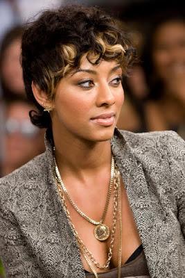 cute african american keri hilson short hairstyles