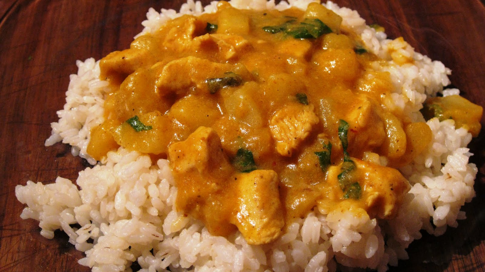 Indian Chicken Curry With Coconut Milk