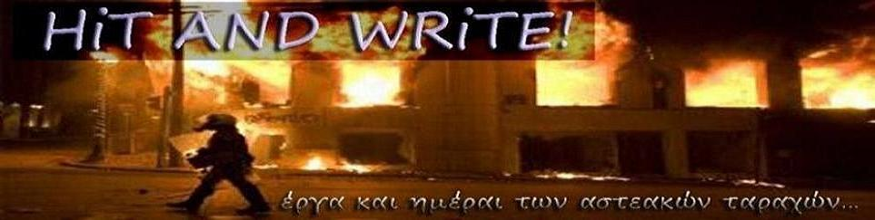 HIT AND WRITE...