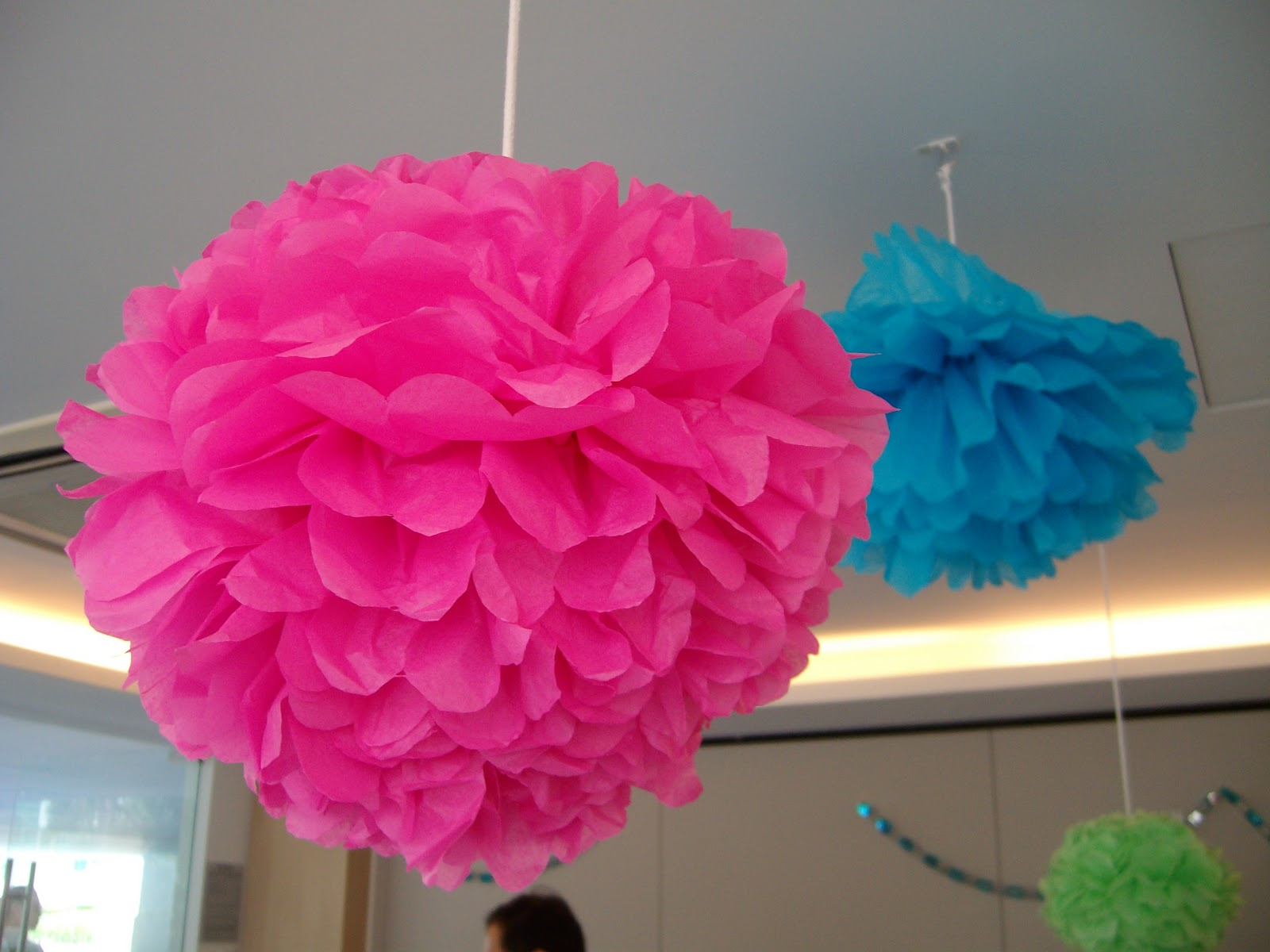 how to make tissue paper pom pom flowers How to make tissue paper pompoms tissue paper pompoms are fun to make and add an elegant touch to any room they are great for kids' bedrooms or as decoration for.