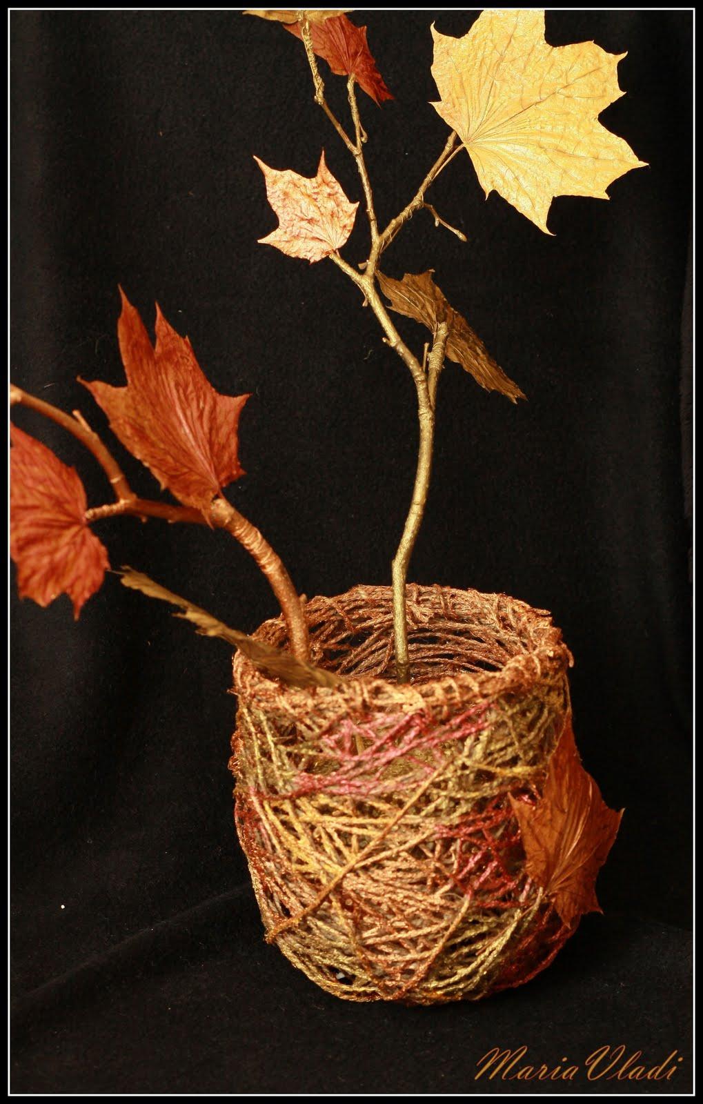 Мастер-класс «Осенние ветки своими руками». Воспитателям. - Маам. ру 33