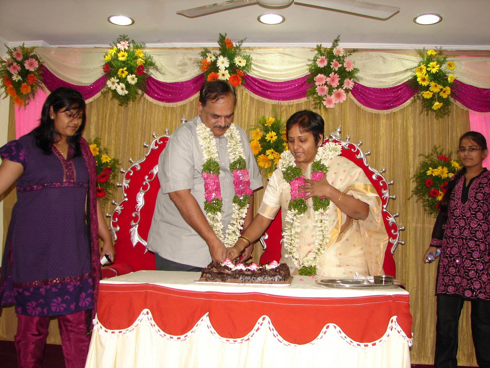 Raghu s column surprise silver anniversary party