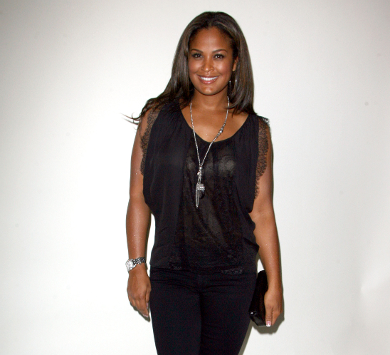 pregnant in heels ali. Laila Ali, actress and