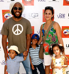 Bellyitch: Ziggy Marley's wife Orly delivers baby girl