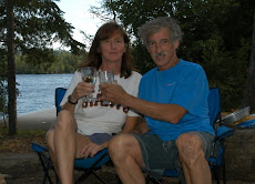 Denise and I at Brule Lake, BWCA