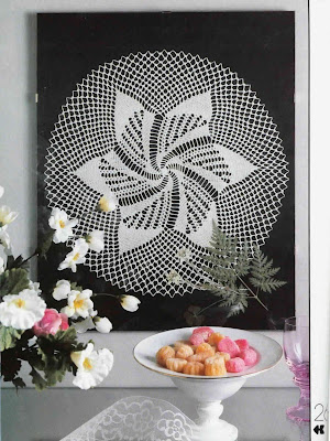 Carpetas Tejidas a Crochet Patron ES