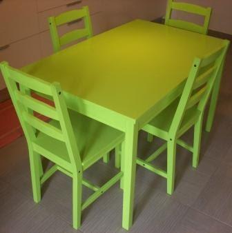 Apprendista mamma come trasformare un mobile di ikea in for Tavolo sedie ikea