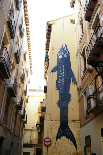 Arte urbano en Zaragoza III