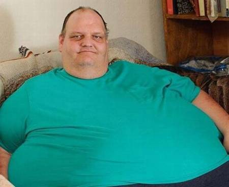 Previously he was the heaviest man in the world.