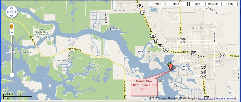 Crystal river fishing report marinas and launch ramps for Crystal river fl fishing report