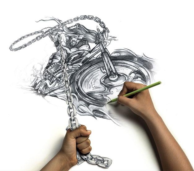 Dibujando en vivo A_rkmcreatividad_119